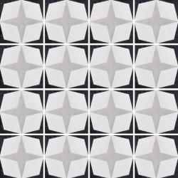 Płytki Fioranese Cementine Black&White Posa W_1 20x20 Rett.Gat.1