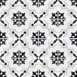 Płytki Fioranese Cementine Black&White Posa W_2 20x20 Rett.Gat.1