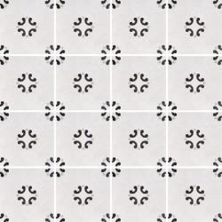 Płytki Fioranese Cementine Black&White Posa W_3 20x20 Rett.Gat.1