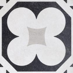 Płytki Fioranese Cementine Black&White W_4 20x20 Rett.Gat.1