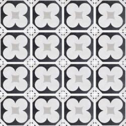 Płytki Fioranese Cementine Black&White Posa W_4 20x20 Rett.Gat.1