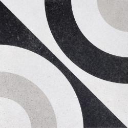 Płytki Fioranese Cementine Black&White W_5 20x20 Rett.Gat.1