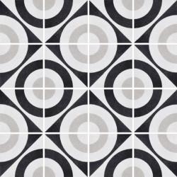 Płytki Fioranese Cementine Black&White Posa W_5 20x20 Rett.Gat.1