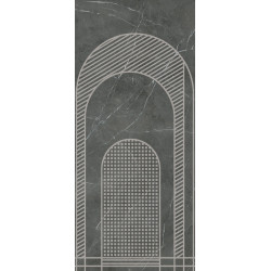 Płytki Ariana Nobile Decoro Archi A Grey Graphite 120x270 lux  gat.1