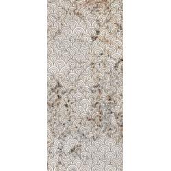 Płytki Ariana Nobile Decoro Ventagli Blank du Blanc 120x270 lux  gat.1
