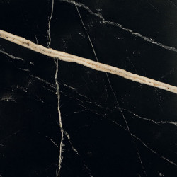 Płytki Fioranese Sound of Marbles Nero Fondo 74x74 Mat/Ret. gat.1