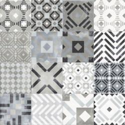 Płytki Abk Play Labyrinth Mix Grey 20x20 Naturale Decor& Wall gat.1