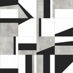 Płytki Abk Play Edge Mix Grey 20x20 Naturale Decor& Wall gat.1