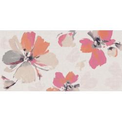 Płytki Ariana Canvas Flora Cotton 60x120 Rett. Gat. 1
